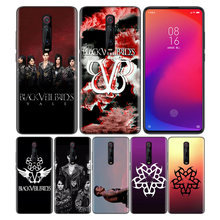 Phone Pattern Black Rubber Soft Silicone Case Bag Cover for Redmi 7A Note 7 6 7S Y3 K20 Pro Core Shell Coque Veil Brides BVB(China)