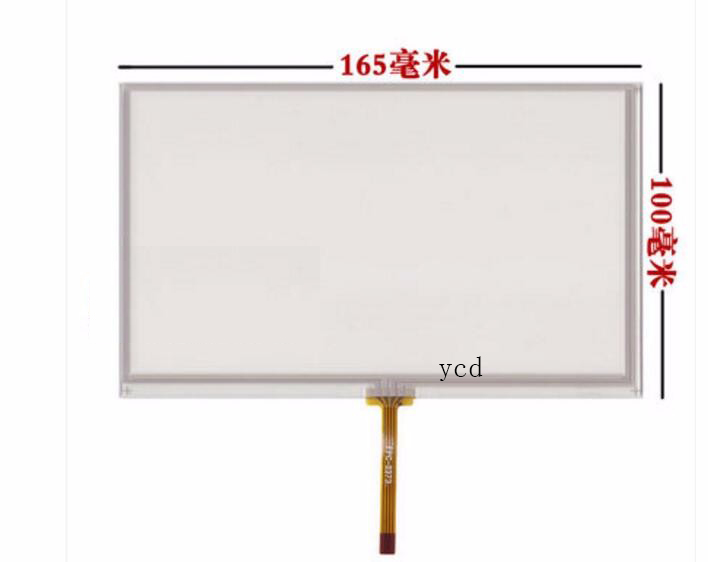 "New 7/"" Inch 165*104 164*103mm 4wire Resistive Touch Screen Panel For AT070TN82"