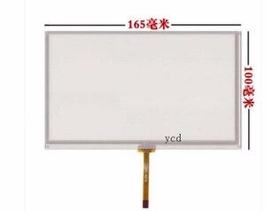 Image 1 - 7 zoll touchscreen Allgemeine lcd touchscreen AT070TN94 90 92 HSD070IDW1 D00 E11 E13 165*100mm