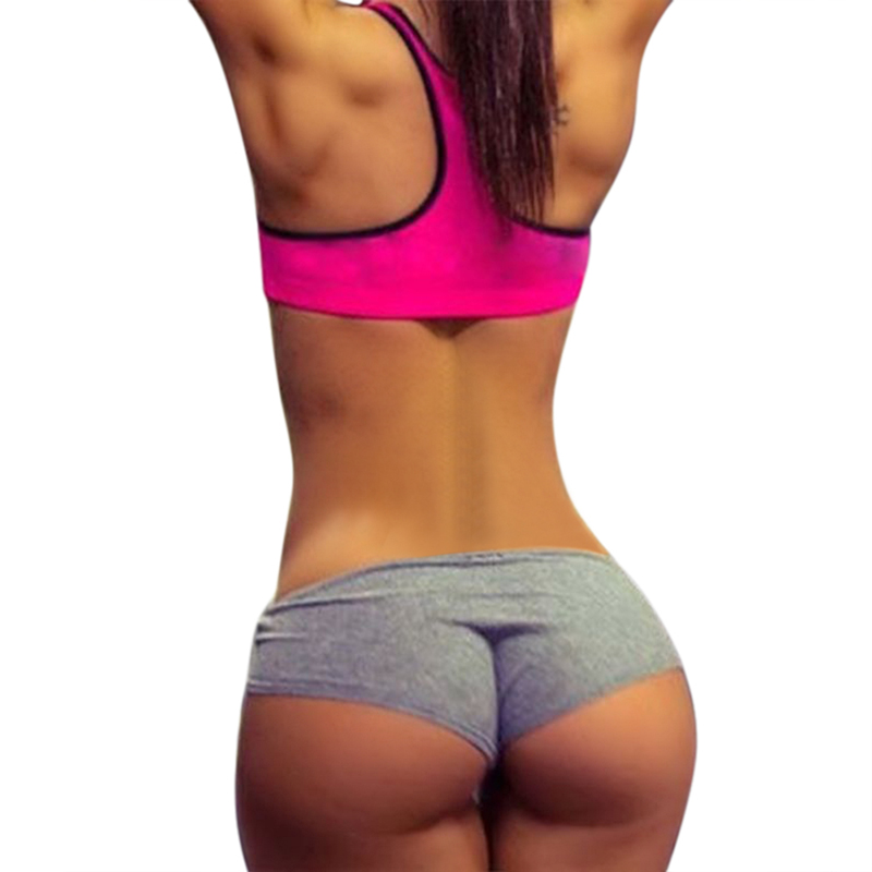 Gym Jogging Pants Sports Wear Yoga Short Fitness Leggings Running Shorts