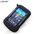 "Lexin 5.5"" Black Rainproof Motorcycle Oil Fuel Tank Bag Magnetic Saddle Bag Cover for Iphone6 6plus Samsung Glaxy S3 S4 Note2 3"