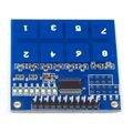 1 ШТ. TTP226 8 Канала Цифровой Сенсорный Модуль Датчика Емкостный Сенсорный Выключатель Кнопка Высокое Качество