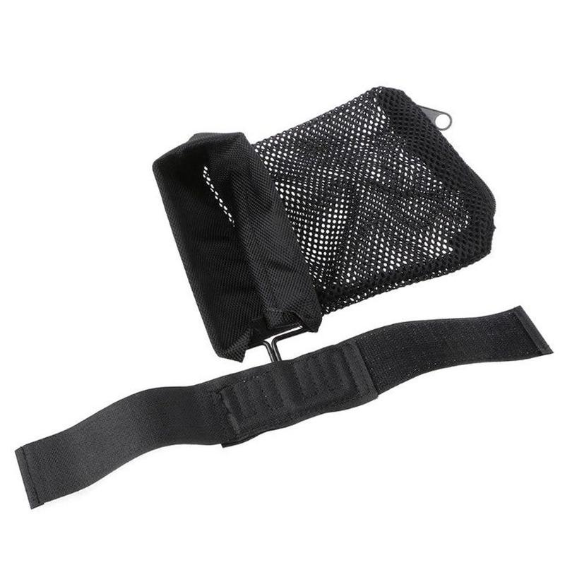 Image 2 - Hunting tactical M4 military army shooting Brass ar15 Bullet Catcher Rifle Mesh Trap Shell Catcher Wrap Around Zipper Bag-in Paintball Accessories from Sports & Entertainment