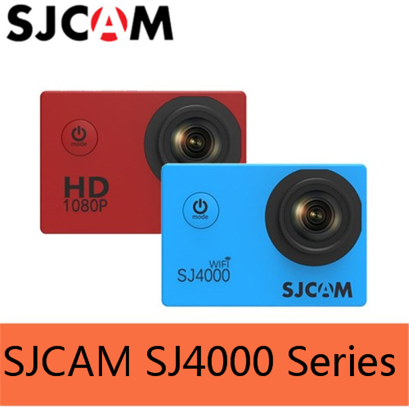 100% Original Sjcam Sj4000 SJ4000 WIFI SJ4000 Plus WiFi 4000 Series 30M Waterproof Diving Mini Sports Action Camera Sj Cam DVR roommates наклейки для декора сафари