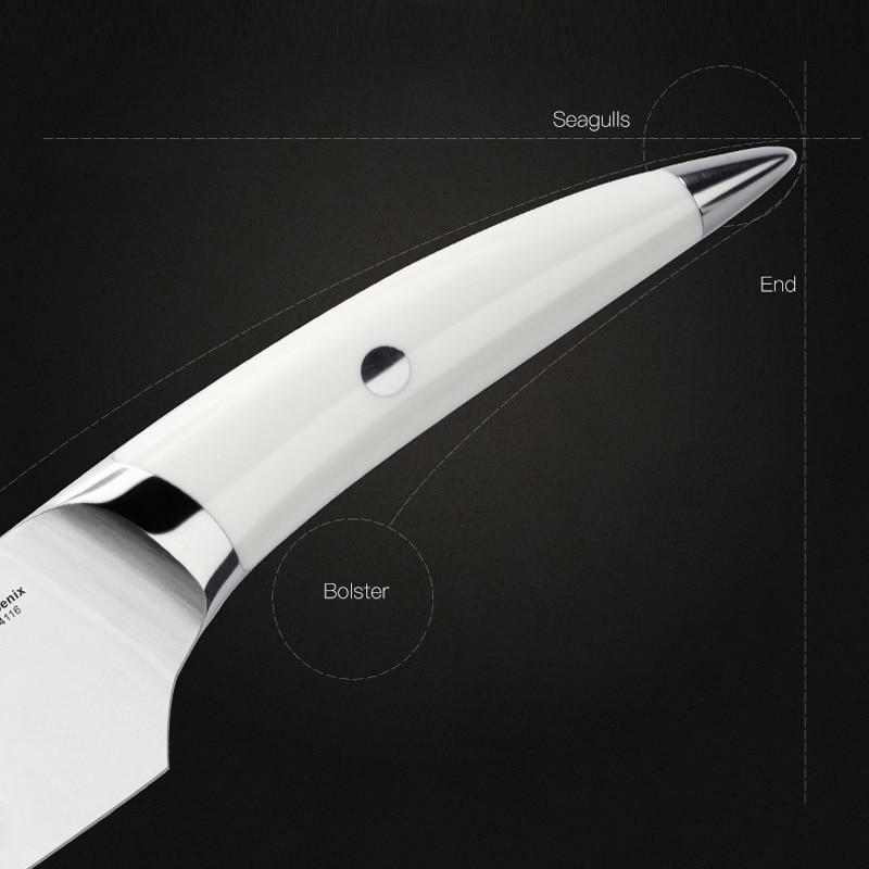 8inch Chef դանակներ Ձեռագործ դարբնոցային - Խոհանոց, ճաշարան եւ բար - Լուսանկար 2