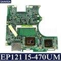 Материнская плата KEFU EP121 для ноутбука ASUS EP121 B121  оригинальная тестовая материнская плата DDR3  I5-470UM
