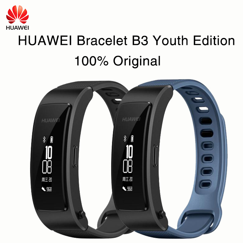 New Original Honor HUAWEI Glory play Bracelet B3 Youth Edition Running time, exercise, heart rate monitoring For Android xiaomi for honor deluxe edition