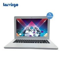 2017 Portable Ultra Light windows 7/8/10 system 13.3 inch White laptop 4G ram 500GB HDD built in camera