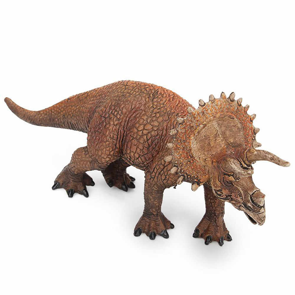 Dinosaur figurines model skeleton fossil Educational Simulated Triceratops Model Kids Children Dinosaur model Toy D300116