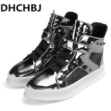 Luxury Brand Design Hip-hop Dancing Cool Laser Rivet Shoes F