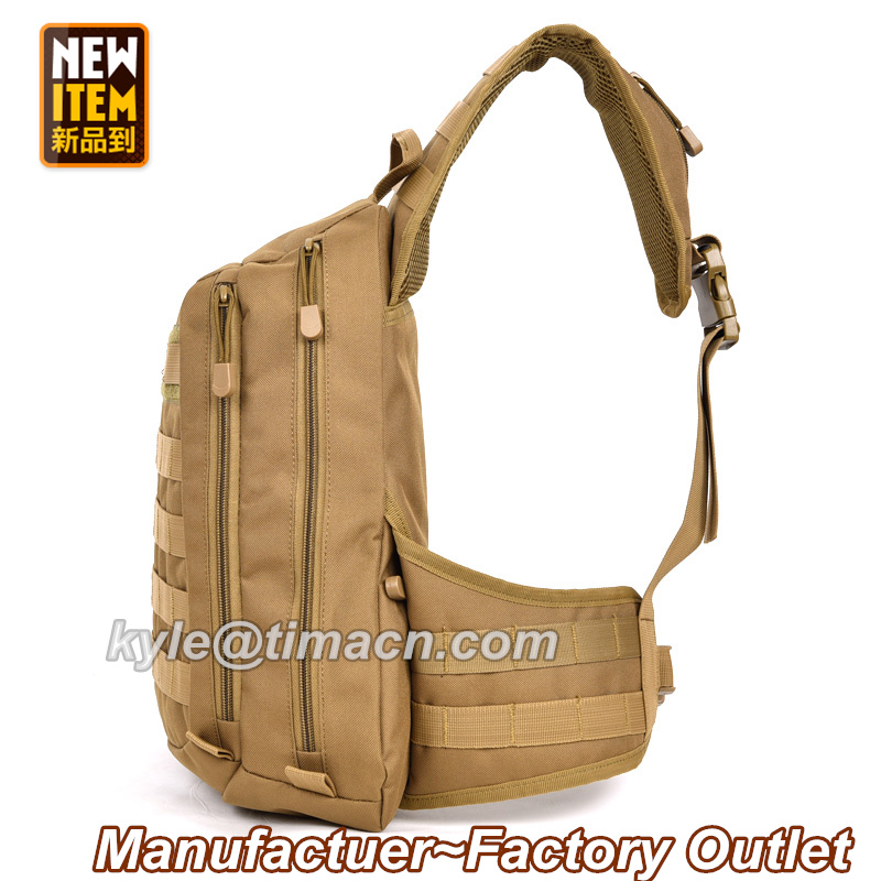 Climbing Bags Camping & Hiking Women Messenger Bag Outdoor Travel Sport Nylon Military Chest Pack Cross Body Sling Single Shoulder Men Tactical Chest Bag