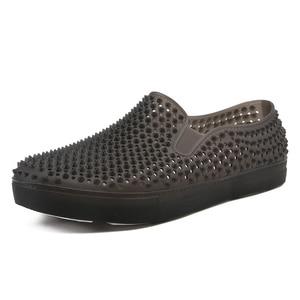 Image 1 - メンズ下駄サンダルプラットフォームスリッパ男性の靴sandalias夏の浜の靴sandalenスリッパsandalet hombre sandali新 2020
