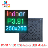 Aliexpress New Video Wall P3.91 RGB SMD 1/16 scan full color led module Size 250 x 250mm Best Sell in Australia North America