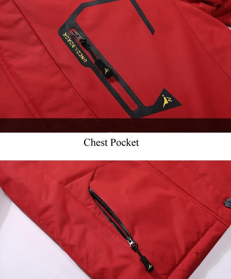 ar livre jaqueta de esqui de montanha snowboard plus size marca