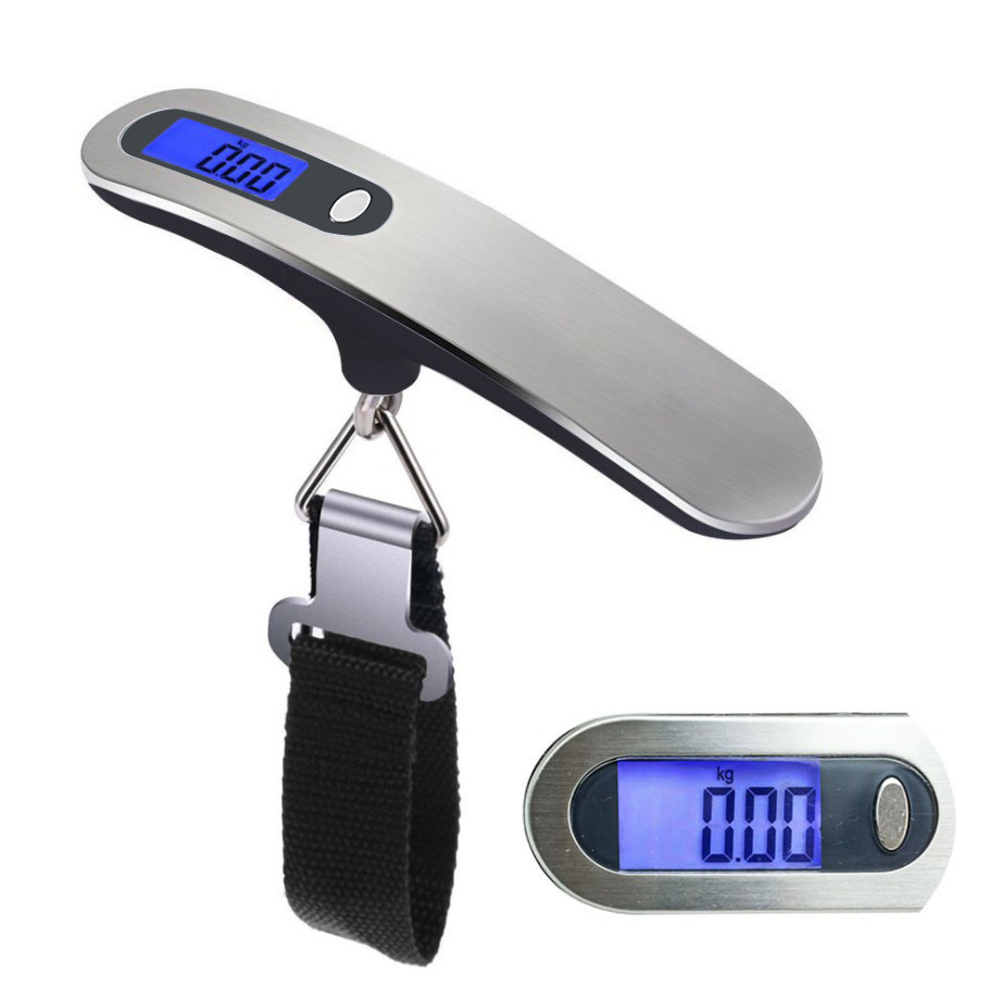 Hand Held Belt Scale 50kg/110lb LCD Digital hanging Scale For Travel Suitcase Luggage Hanging Scales Weighing Balance ElectronicHand Held Belt Scale 50kg/110lb LCD Digital hanging Scale For Travel Suitcase Luggage Hanging Scales Weighing Balance Electronic
