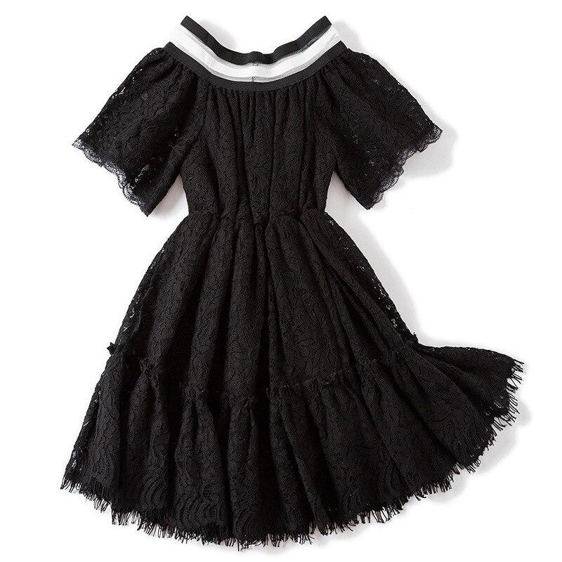 2018 Syue Moon Summer Kids Lace Girls Dress For Girls Princess Dress Baby Girls Party Dresses For Girl Children Clothing