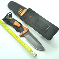 Tactical Fixed Knife,9Cr18Mov Blade G10 Handle Brothers of Bushcraft Hunting Survival Knife 20CM Model