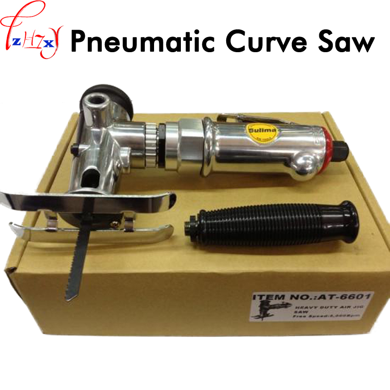 Handheld pneumatic woodworking curve saw AT-6601 pneumatic reciprocating saws tool cutting machine wood curve saw