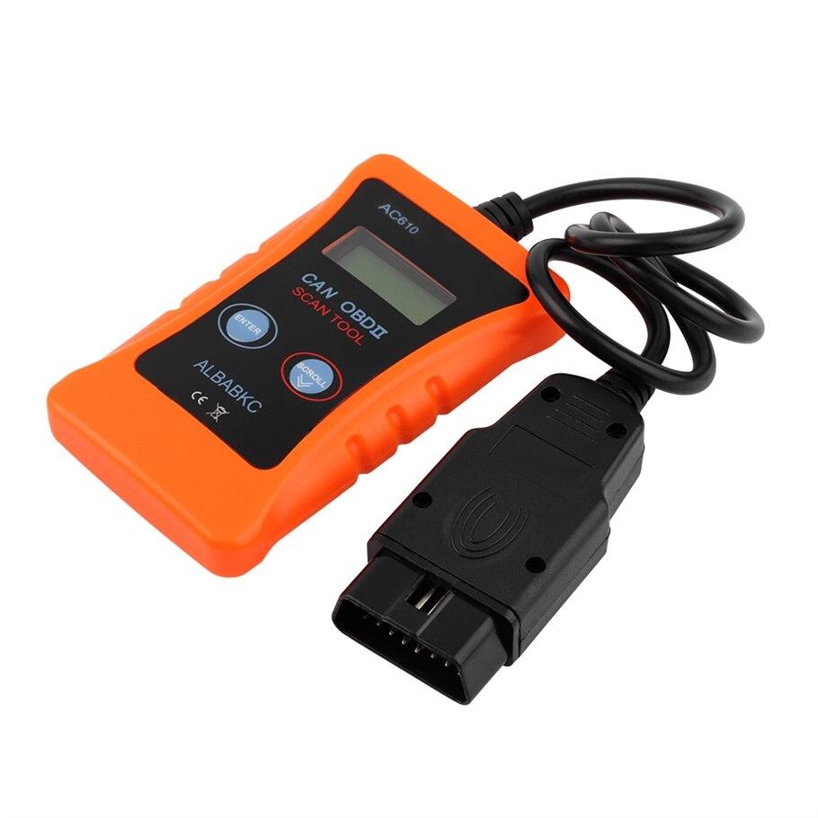 Prix pour Nouveau AC610 OBD2 CAN BUS De Diagnostic Scanner Code Reader pour Volkswagen vente chaude