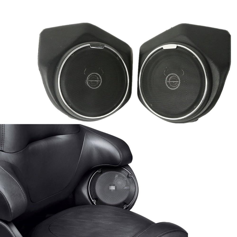 Backrest Tour Pak Pack Rear Speaker For Harley Tour Road King Electra Glide Ultra Limited FLHR Special FLTRXS 14-17 Harley-Davidson