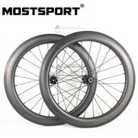 20inch 451 Dimpled Carbon Wheels For Folding Bike DT SWISS 240 Disc Brake QR hubs Sapim Spokes