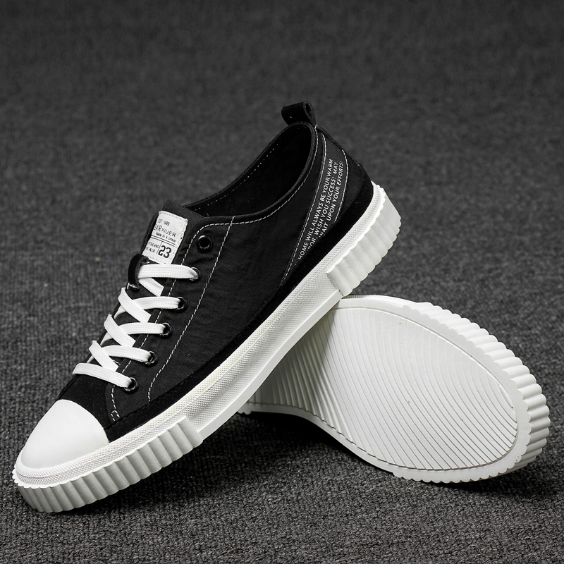 Hommes chaussures décontractées à lacets toile baskets pour hommes à la mode printemps mâle décontracté toile chaussures bonne qualité décontracté homme chaussures