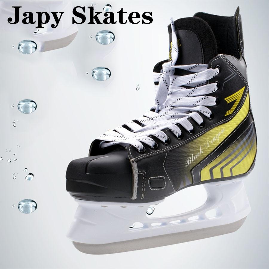 Japy Skate Black Dragon Ice Hockey Shoes Adult Child Ice Skates Professional Ball Knife Ice Hockey Knife Shoes Real Ice SkatesJapy Skate Black Dragon Ice Hockey Shoes Adult Child Ice Skates Professional Ball Knife Ice Hockey Knife Shoes Real Ice Skates