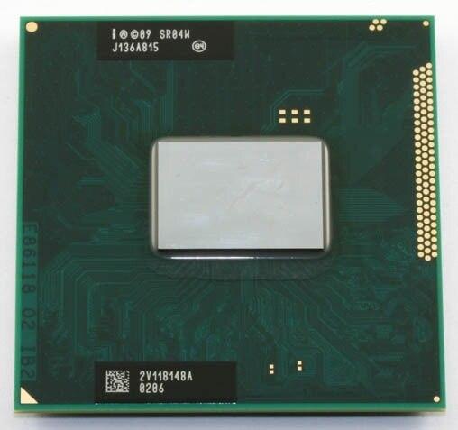 Intel Core i5 2430 M SR04W 2.40 GHz Laptop Bộ Vi Xử Lý CPU Ổ Cắm G2 988pin