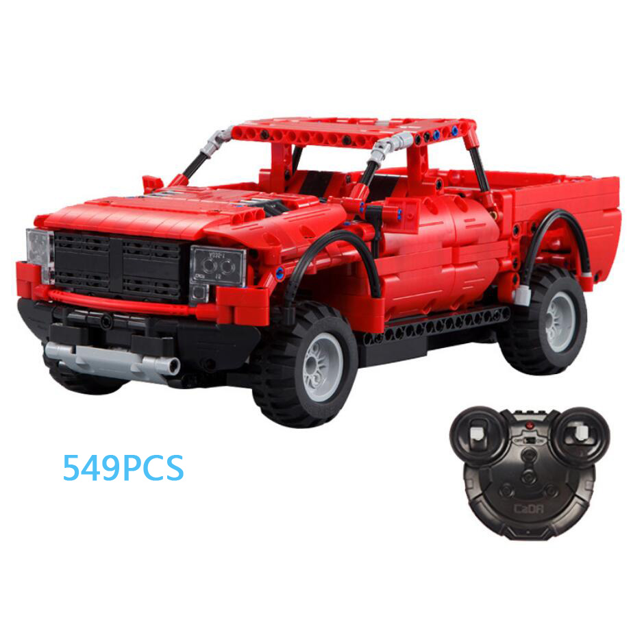 Hot remote radio control famous car ford f150 building block 2.4Ghz Raptor assemble model bricks rc toys collection for gifts цены онлайн