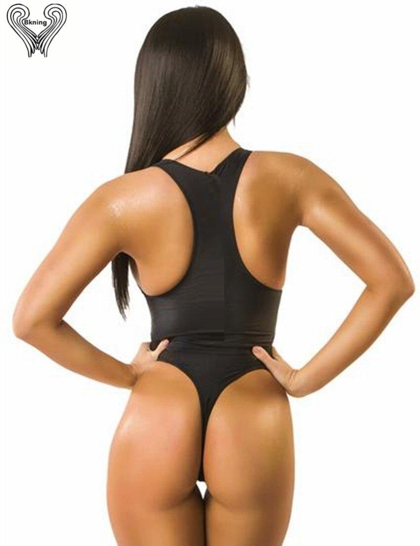 qayış bir parça mayo yay qadın bandaj bikini cintura alta bikini - İdman geyimləri və aksesuarları - Fotoqrafiya 2