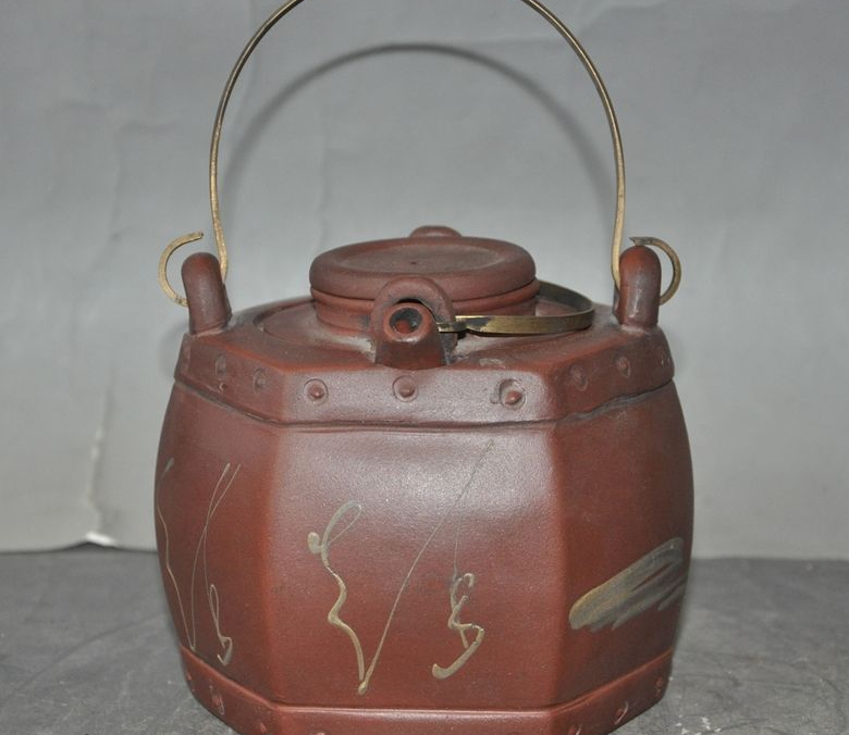marked old chinese yixing zisha Pottery Masters pure Hand-painted teapot tea setmarked old chinese yixing zisha Pottery Masters pure Hand-painted teapot tea set