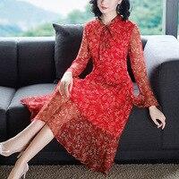 100% реальные платье из натурального шелка сезон: весна лето платье женская одежда 2019 элегантные пикантные женские платья высокое качество