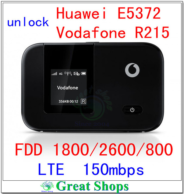 Разблокировать Huawei E5372 CAT4 VODAFONE R215 4G LTE WIFI маршрутизатор 150 Мбит/С 3 Г WI-FI LTE lte карманный Мини Маршрутизатор 4 г Dongle пк e5375 e5372