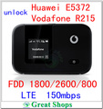 unlock Huawei E5372 Vodafone R215 4G LTE wifi router CAT4 150Mbps 3G WIFI lte pocket Mini Router 4g Dongle LTE pk e5375 e5372