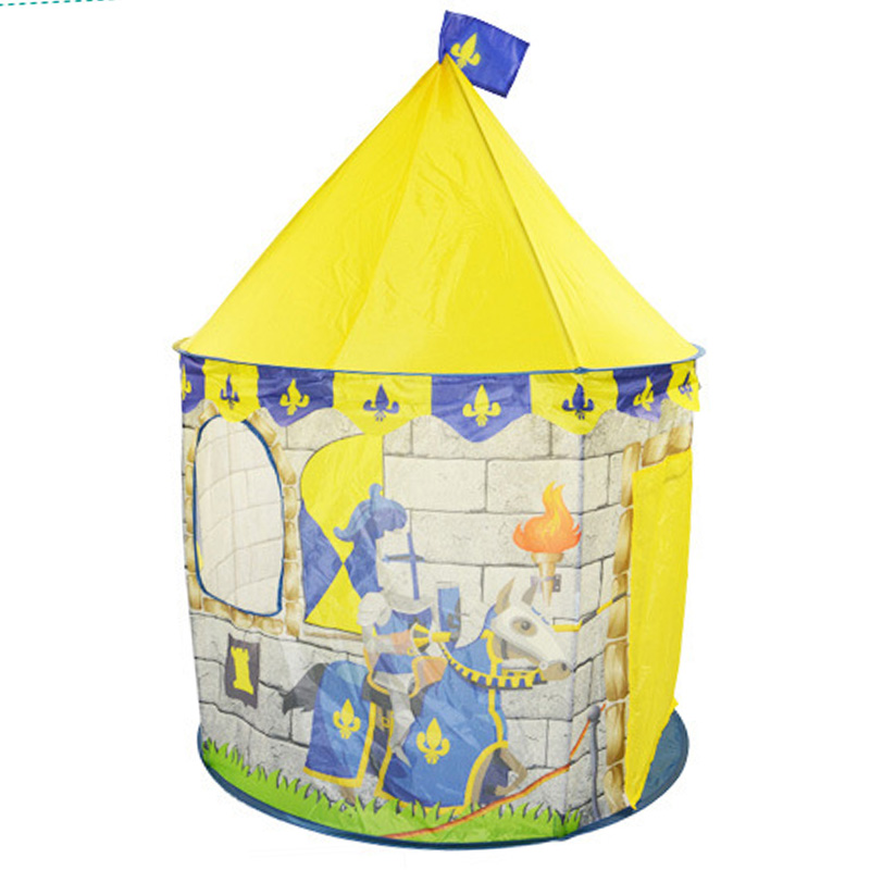 Colorful Cartoon Play Tent Kids Outdoor Indoor Playhouse Boy Girl Castle Toys Portable Children Tents Game Room  play toys грабли 46 см