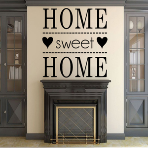 Sweet Home Vinyl Wall Stickers