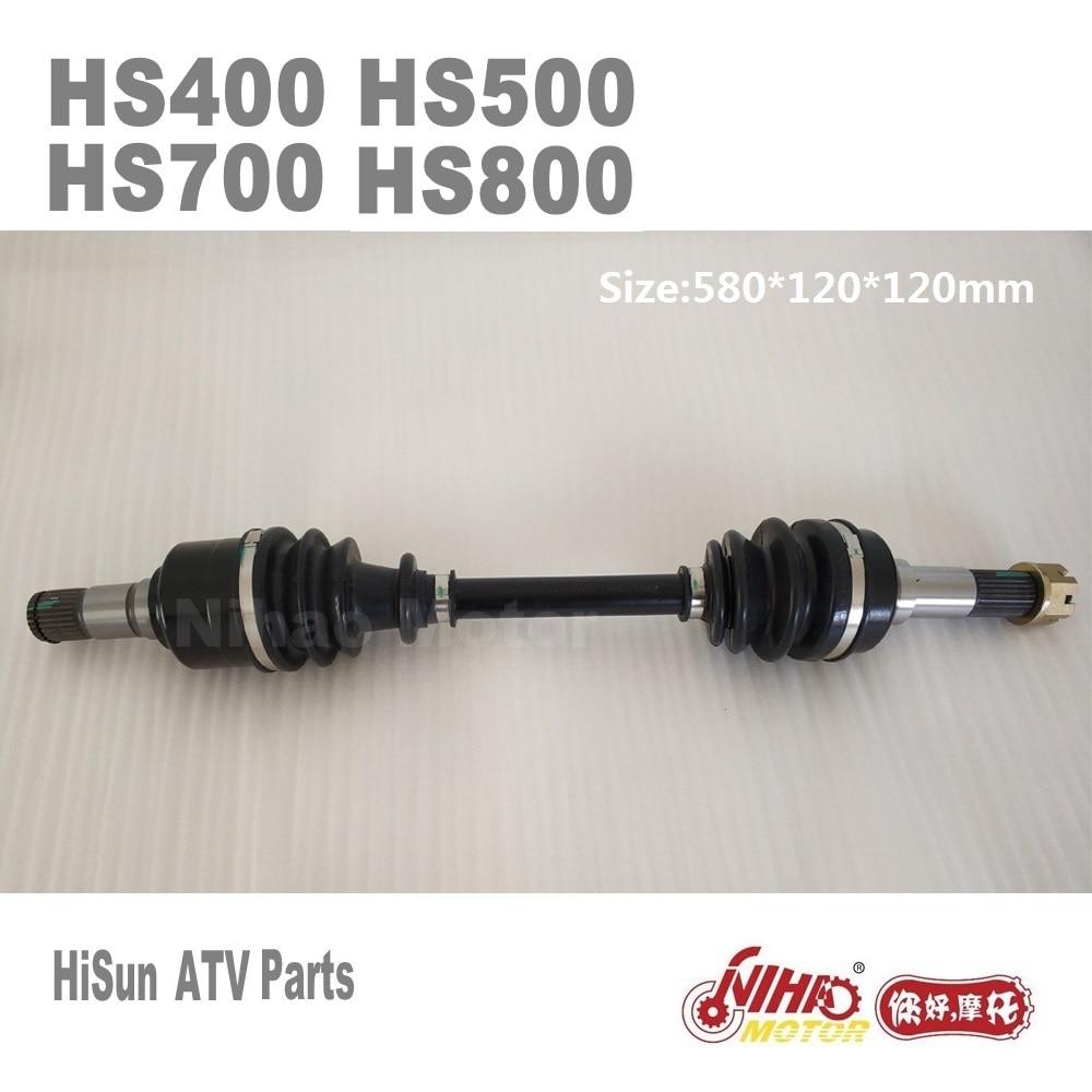 US $151 82  90 HISUN ATV Parts Front left constant speed drive HS400 HS500  HS600 HS700 HS800 ATV Quad Engine Forge Tactic Coleman cub cadet-in ATV