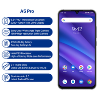 Global Version UMIDIGI A5 PRO Android 9.0 Octa Core 6.3' FHD+ Waterdrop 16MP Triple Camera 4150mAh 4GB RAM 4G Celular Smartphone 4