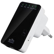 Повторитель Wi-fi Беспроводной удлиннитель маршрутизатора AP усилитель LAN Клиент мост IEEE802.11b/g/n ЕС вилка Wi-fi роутер