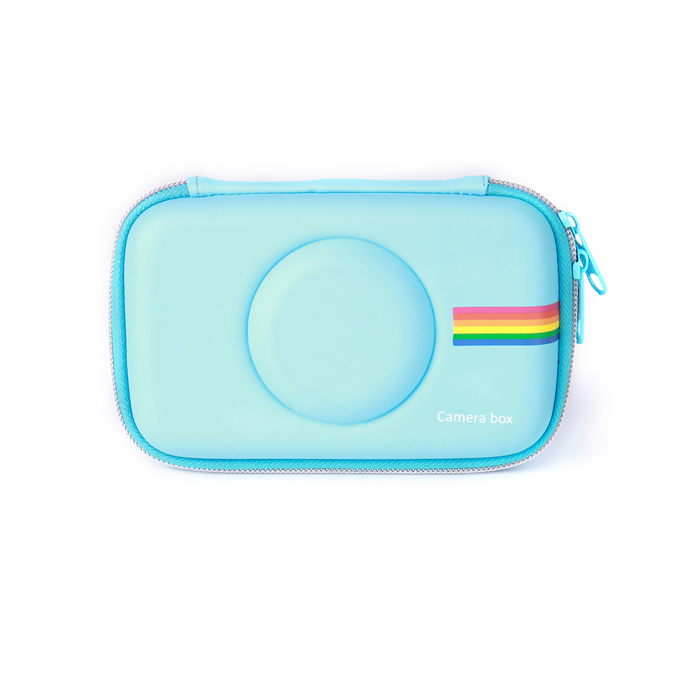 Pu Case for Polaroid Snap & Snap Touch Instant Print Digital Camera blue цена
