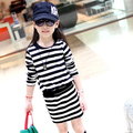 V-TREE New autumn and winter cotton girl dress baby girls long sleeve dresses cartoon kids clothes roupa infantil