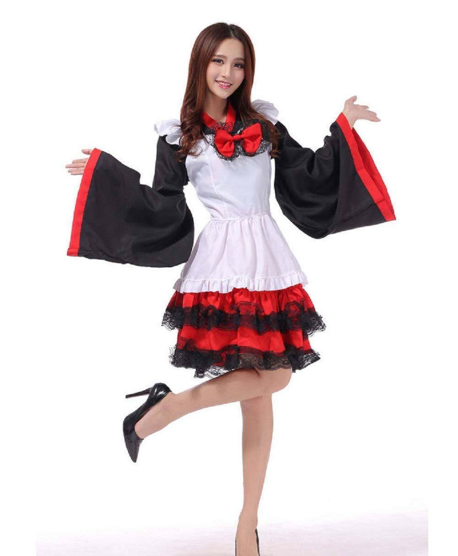 Shanghai histoire haute qualité Anime kimono femme de chambre cosplay costumes Lolita robe tenue taille unique
