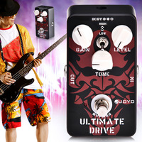 JOYO JF 02 Electric Guitar Effect Pedal Ultimate Drive Mode Without Battery 9V Power Supply Guitar