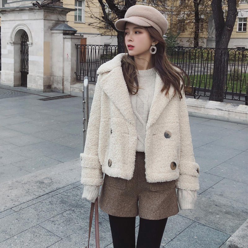 Mishow 2018 Autumn Winter New Coat Women Long Sleeve cotton clothing Casual Overcoat MX18D6513