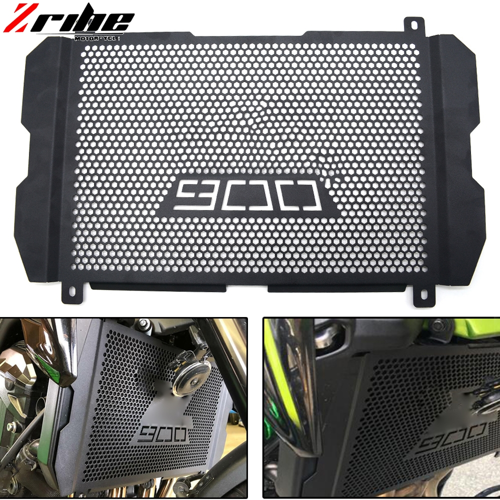 for z900 for kawasaki Z900 2017 Radiator Guard Grill Protection for kawasaki Z 900 2018 Parts Accessories High Quality Aluminium Гриль