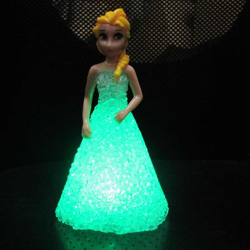 Замороженная Принцесса Кукла Анна Эльза фигурка кукла игрушка мини детские игрушки Экшн фигурки Эльза куклы игрушки Классические игрушки подарок