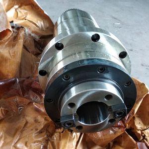 Image 4 - Шпиндельный шкив с ЧПУ bt40, синхронный шкив для фрезерного станка с ЧПУ, лепестковый зажим ATC + пружина диска + Тяговая планка для воздушного охлаждения