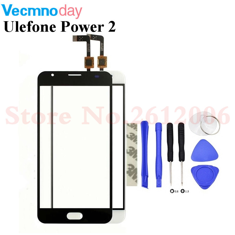 5.5 inch Touch Screen For Ulefone Power 2 Power2 Touch Screen Digitizer Sensor Front Panel Glass Replacement5.5 inch Touch Screen For Ulefone Power 2 Power2 Touch Screen Digitizer Sensor Front Panel Glass Replacement