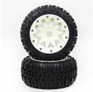 BAJA 5B three generations of high-strength nylon wheels wasteland rer tire assembly 95195 все цены