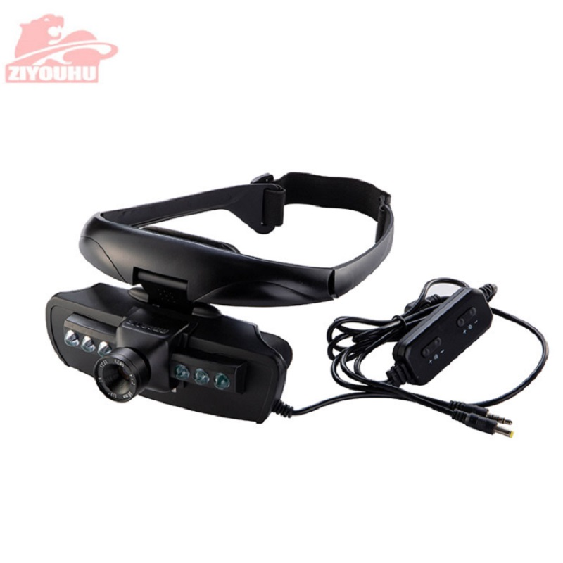 Image 5 - ZIYOUHU IR Digital Night Vision Goggles Eye Mask Device of Observed In Darkness HD Imaging for Hunting Scope Head Mounted-in Night Visions from Sports & Entertainment